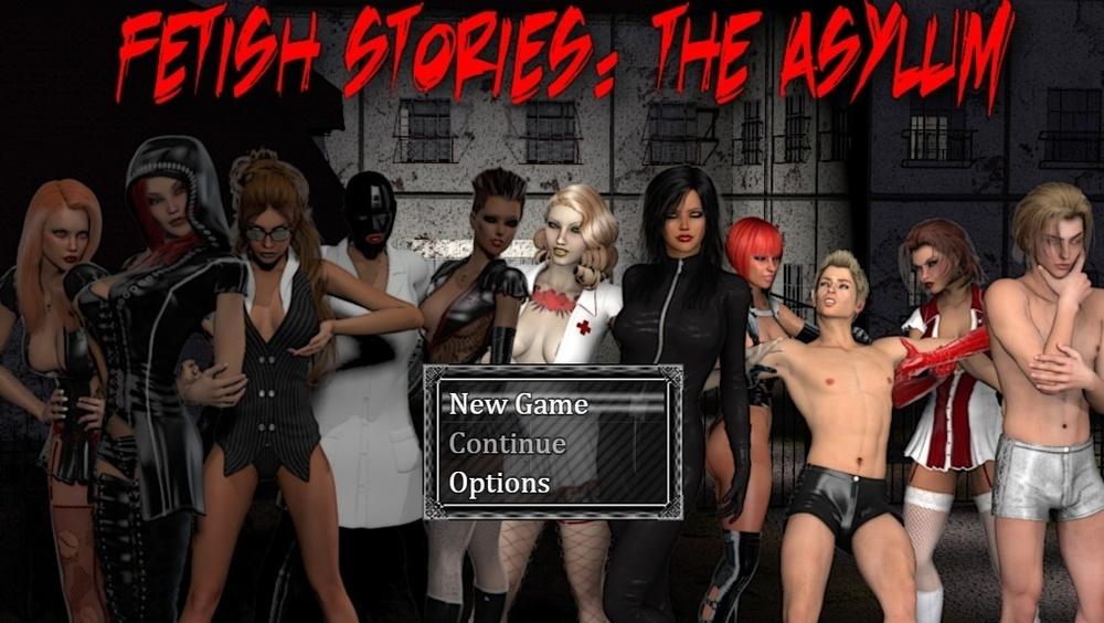 Fetish Stories: The Asylum - Final image