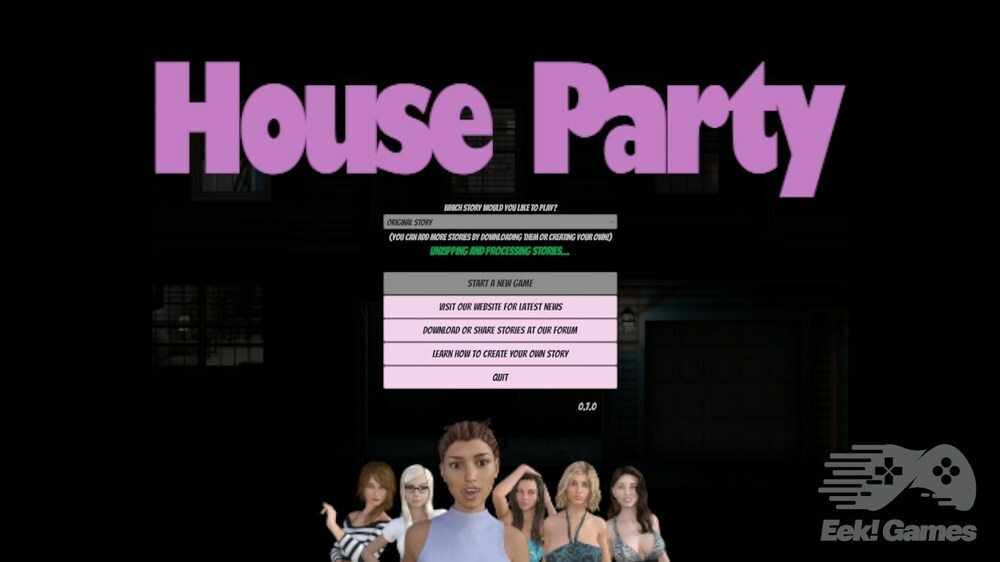 House Party - Version 0.19.1 Alpha image