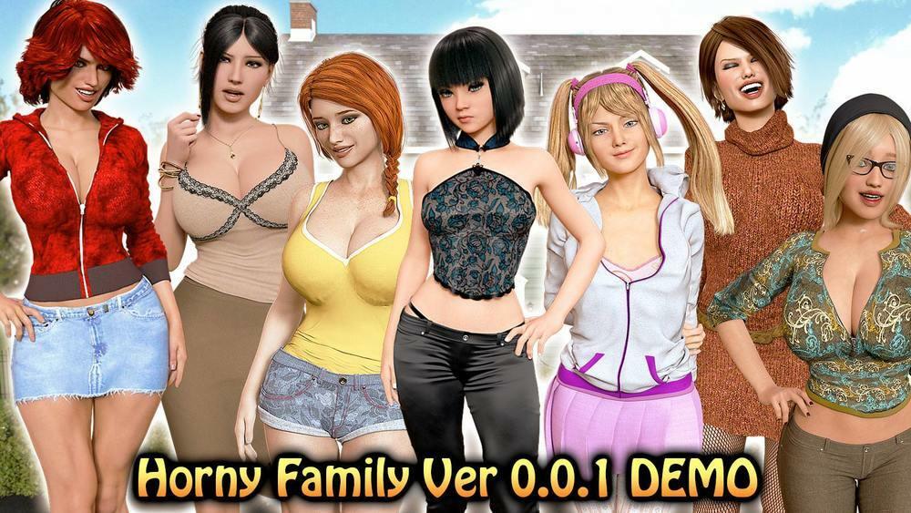 Horny Family - Version 0.0.1 image