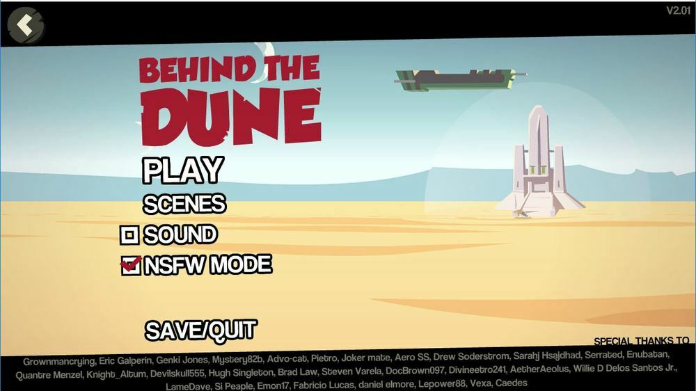 Behind the Dune - Version 2.30 image