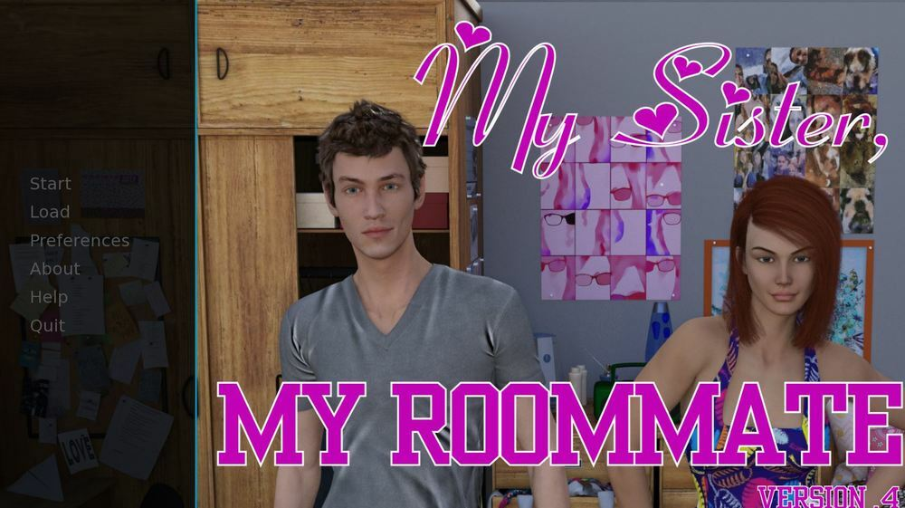 My Sister, My Roommate – Version 1.69 & Incest Patch – Completed image