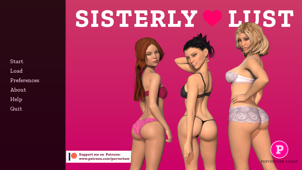 Sisterly Lust – Version 1.0 Extra Scenes & Incest Patch – Completed image