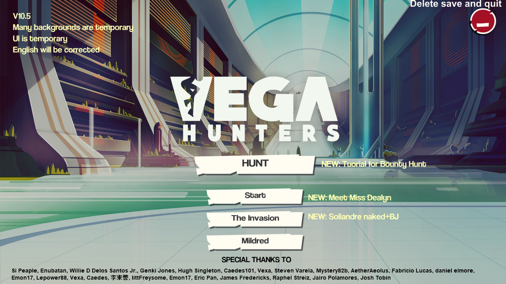 Vega Hunters - Version 2.14 image