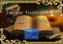 Familiars Training – Version R 0.21