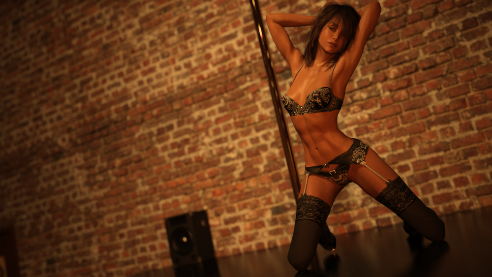 Dancer and A lustrous Stage – Demo Version image