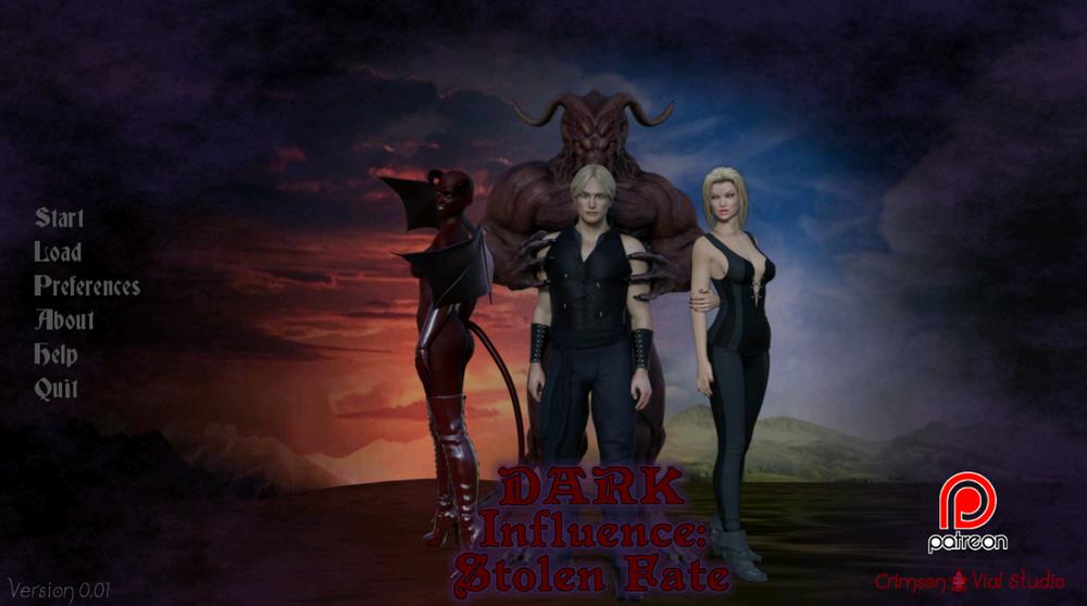 Dark Influence: Stolen Fate - Version 0.1 image