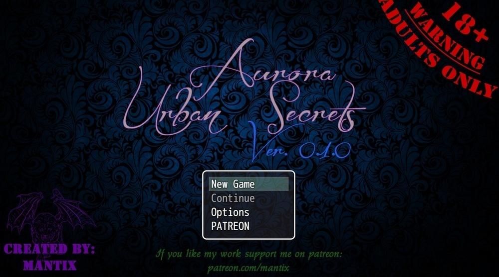 Aurora: Urban Secrets – Version 0.2.1 image