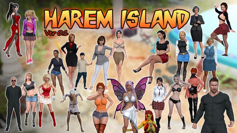 Harem Island - Version 1.0a - Completed