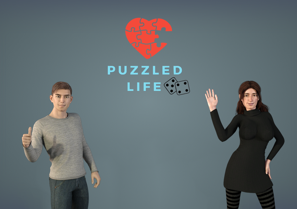 Puzzled Life – Complete image