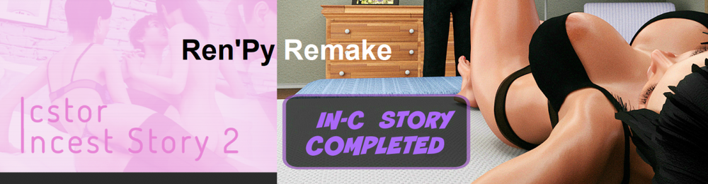 Incest Story 1-2 Unofficial Ren'py Remake – Complete image