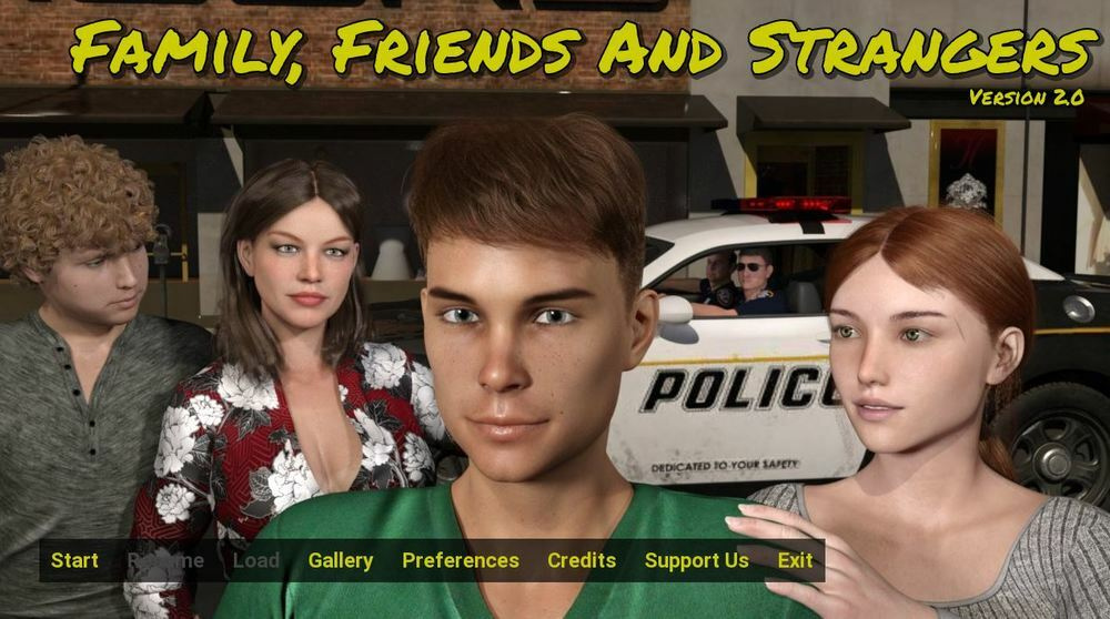 Family, Friends and Strangers - Version 9.0 image