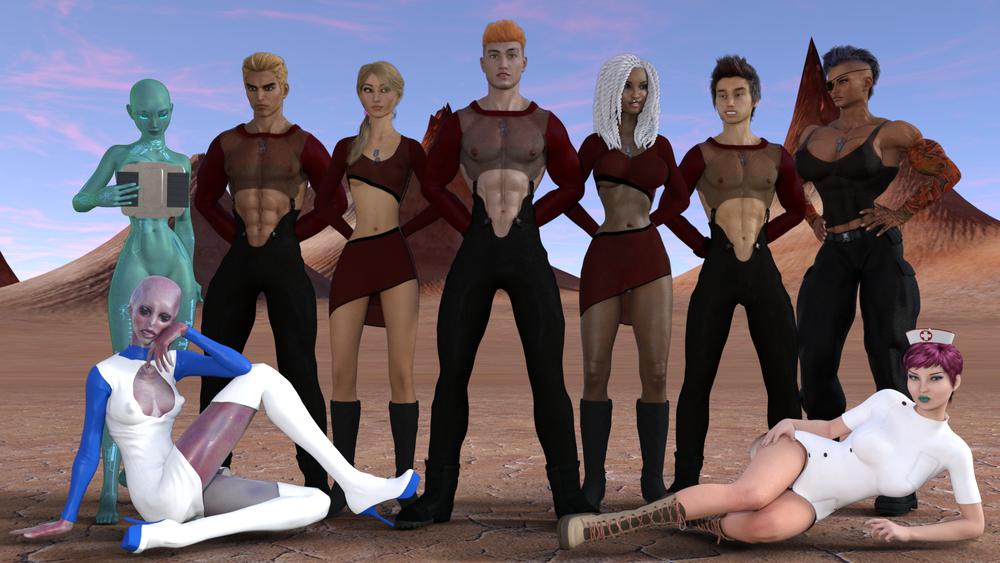 SpaceCorps XXX - Version 0.3.4b image