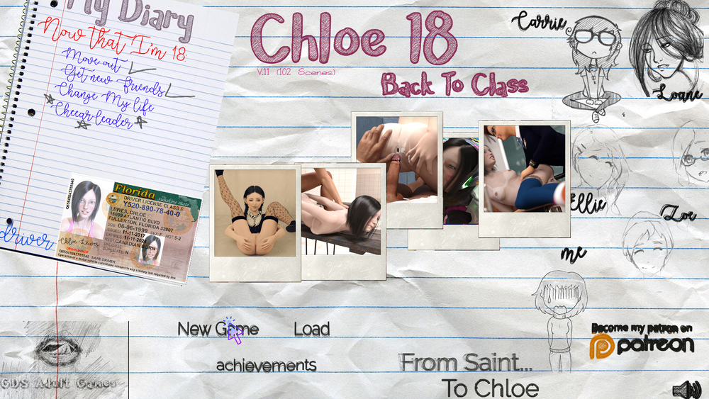 Chloe18 – Back To Class – Version Full – Complete image