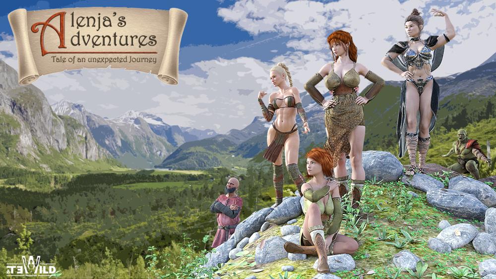 Alenja's Adventures – Version 0.21 Final image