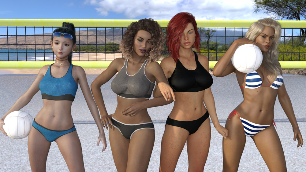 Virtuous United Ladies Volleyball Assocation – Version 0.7 – Completed image