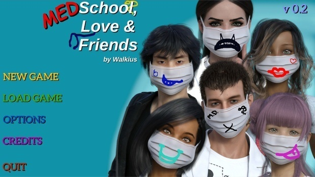 Medschool, Love and Friends - Version 0.6 image
